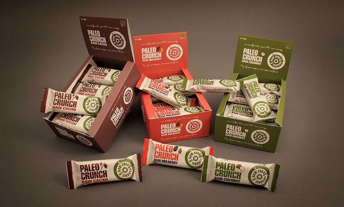 Paleo Crunch Förpackningsdesign
